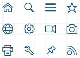 SAP Icons example